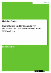 Identifikation und Evaluierung von Materialien ...