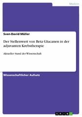 Der Stellenwert von Beta Glucanen in der adjuva...