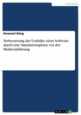 Verbesserung der Usability einer Software durch...
