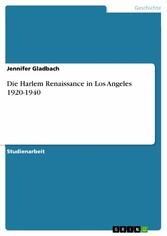 Die Harlem Renaissance in Los Angeles 1920-1940
