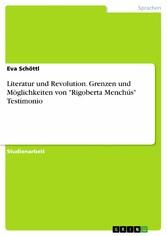 Literatur und Revolution. Grenzen und Möglichke...