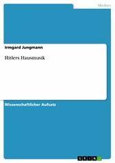 Foto 4 Hitlers Hausmusik