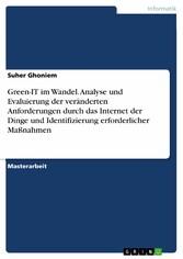 Green-IT im Wandel. Analyse und Evaluierung der...