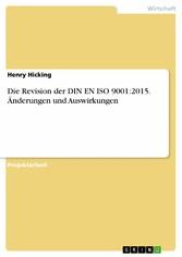 Die Revision der DIN EN ISO 9001:2015. Änderung...