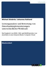 Leistungsanalyse und Bewertung von Datenbankimp...
