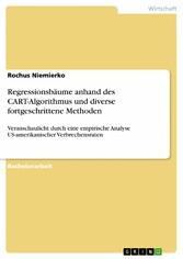 Regressionsbäume anhand des CART-Algorithmus un...