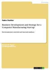 Business Development and Strategy for a Compute...