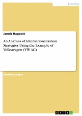 An Analysis of Internationalisation Strategies ...
