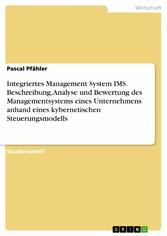 Integriertes Management System IMS. Beschreibun...