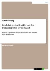 Reichsbürger im Konflikt mit der Bundesrepublik...