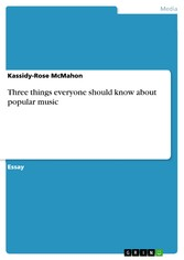 Three things everyone should know about popular...