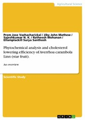 Phytochemical analysis and cholesterol lowering...