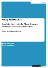 Portfolio Careers in the Music Industry. Austra...