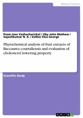 Phytochemical analysis of fruit extracts of Bac...
