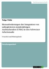 Herausforderungen der Integration von unbegleit...