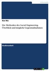 Die Methoden des Social Engineering. Überblick ...
