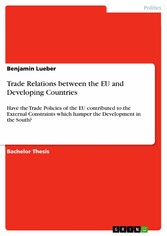 Trade Relations between the EU and Developing C...