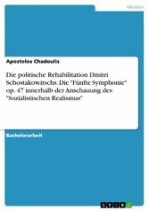 Die politische Rehabilitation Dmitri Schostakow...