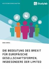 Die Bedeutung des Brexit für europäische Gesell...