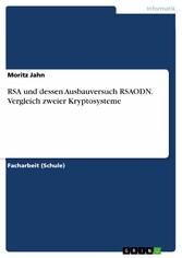 RSA und dessen Ausbauversuch RSAODN. Vergleich ...