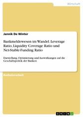 Bankmeldewesen im Wandel. Leverage Ratio, Liqui...