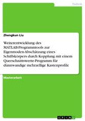 Weiterentwicklung des MATLAB-Programmtools zur ...