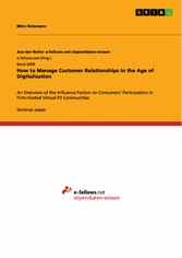 How to Manage Customer Relationships in the Age...