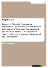Taxpayers Rights in Comparative Perspective. Th...