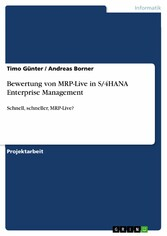 Bewertung von MRP-Live in S/4HANA Enterprise Ma...
