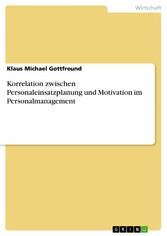 Korrelation zwischen Personaleinsatzplanung und...