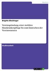 Vereinsgründung einer mobilen Hauskrankenpflege...