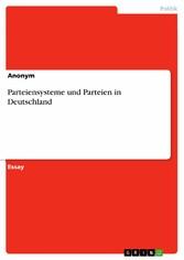 Parteiensysteme und Parteien in Deutschland