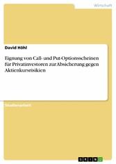 Eignung von Call- und Put-Optionsscheinen für P...
