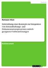 Entwicklung eines Konzepts zur Integration von ...