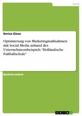 Optimierung von Marketingmaßnahmen mit Social M...