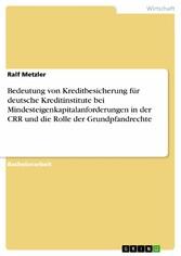 Bedeutung von Kreditbesicherung für deutsche Kr...