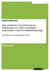 Eine empirische Untersuchung zur Etablierung vo...