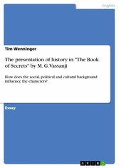 The presentation of history in The Book of Secr...