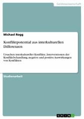 Konfliktpotential aus interkulturellen Differen...