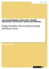 Burger-Franchise. Reverse Brainstorming mit Hea...