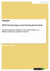 RFID-Technologie in der Kreislaufwirtschaft - K...