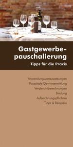 Gastgewerbepauschalierung (Ausgabe Österreich) ...