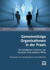 Gemeinnützige Organisationen in der Praxis (Aus...
