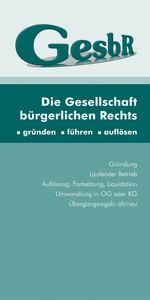 Die Gesellschaft bürgerlichen Rechts (Ausgabe Ö...