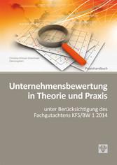 Unternehmensbewertung in Theorie und Praxis (Au...