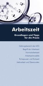 Arbeitszeit (Ausgabe Österreich) - Grundlagen u...