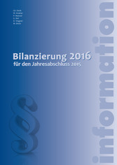 Bilanzierung 2016 (Ausgabe Österreich) - für de...