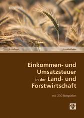 Einkommen- und Umsatzsteuer in der Land- und Fo...