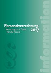 Personalverrechnung 2017 (Ausgabe Österreich) -...