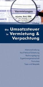 Die Umsatzsteuer in Vermietung und Verpachtung ...